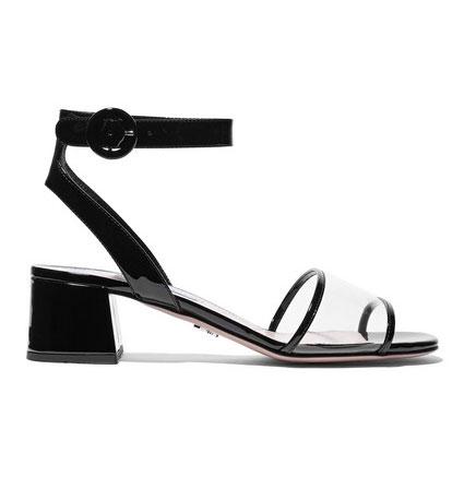 Shop The Clear Vinyl Sandal Trend For Summer Coveteur