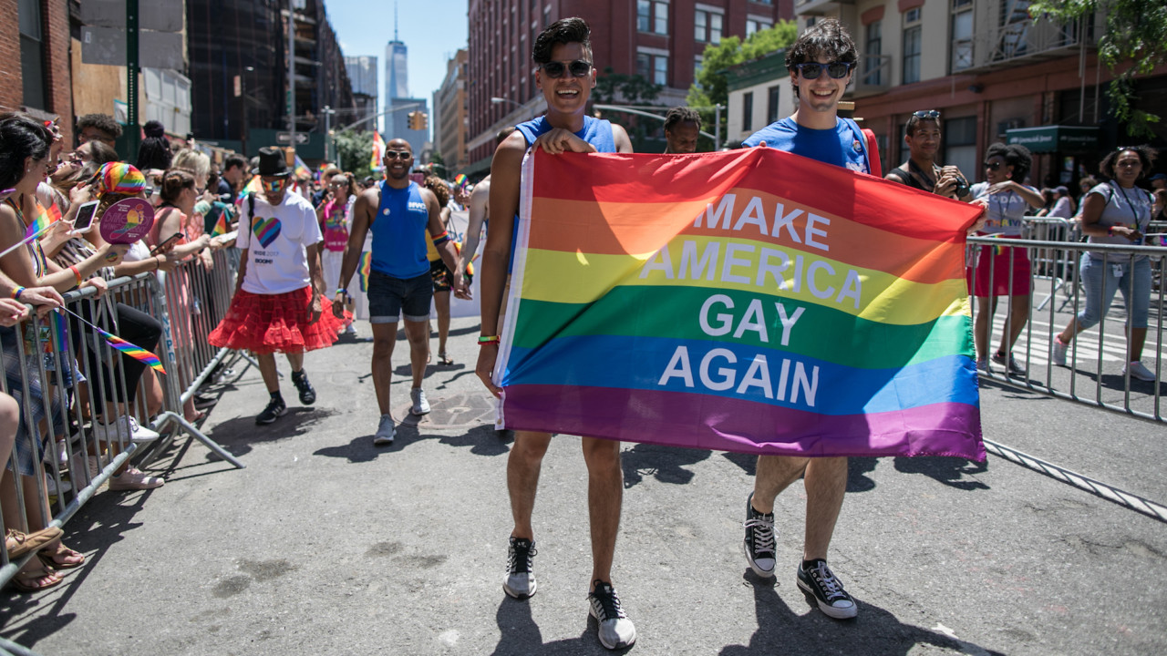 The Most Fabulous Looks from the NYC Pride Parade