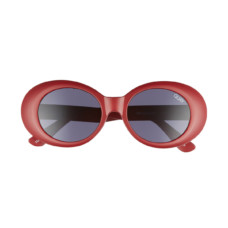quay australia frivolous 50mm oval sunglasses