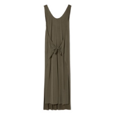 vince sleeveless wrap dress