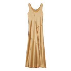 vince raw edge tank dress