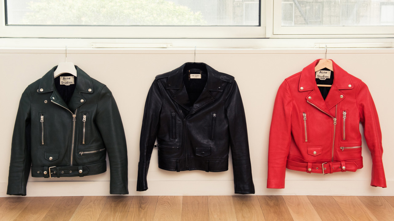 This Victoria's Secret Model Has a Thing for Saint Laurent Suits and Acne Leather Jackets