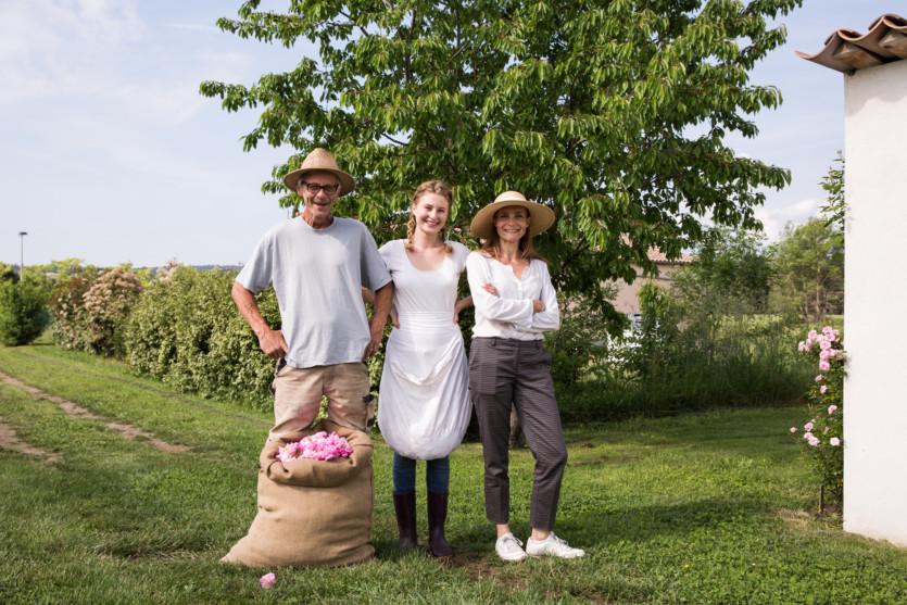 dior fragrance rose farm