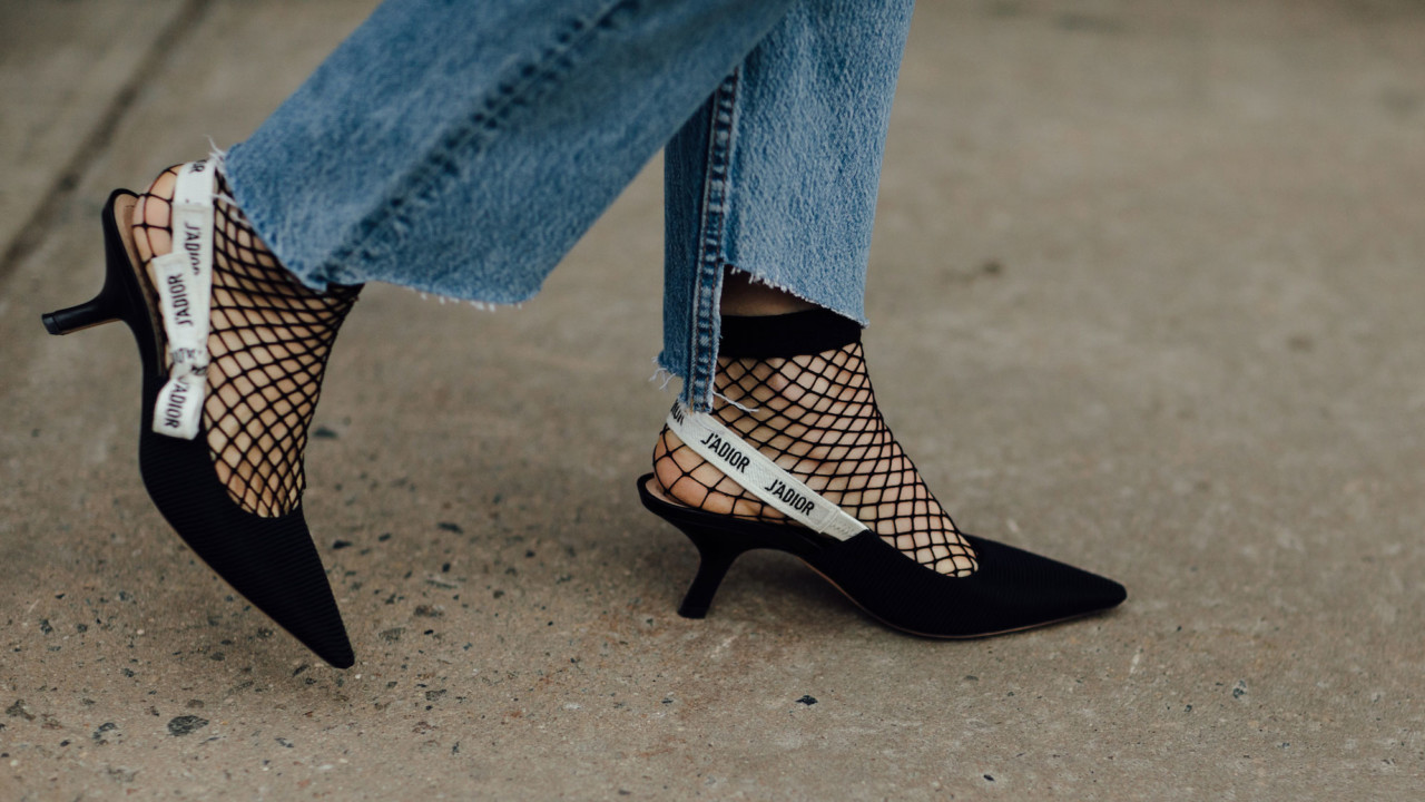 The Throwback Shoe Style We're Spotting on Every Fashion Girl