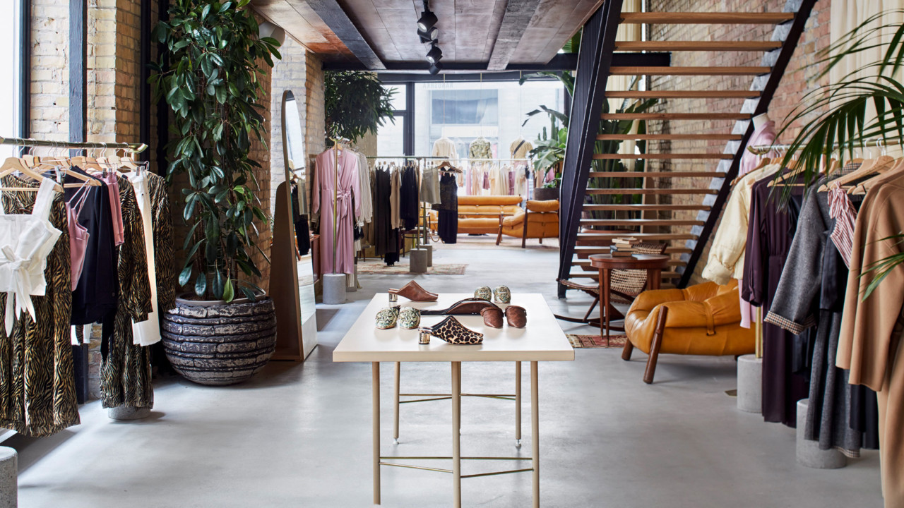 Nanushka's Flagship Boutique Is Worth a Trip to Hungary