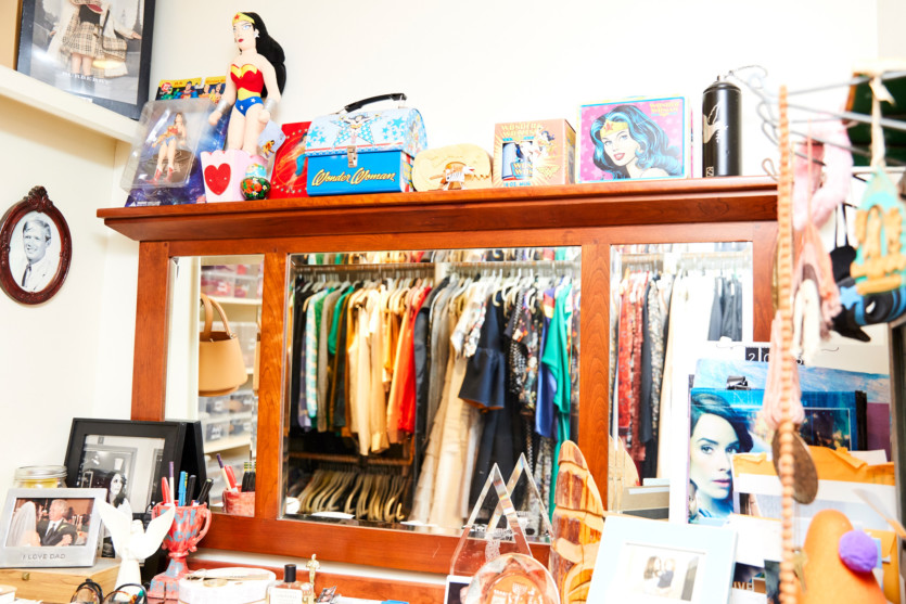 inside abilgail spencer closet