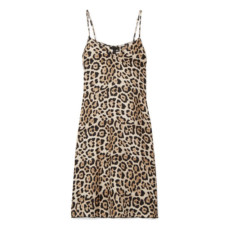 atm anthony thomas melillo leopard print mini dress