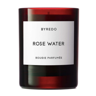 byredo rose water candle