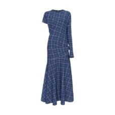 calvin klein 205w39nyc asymmetric maxi dress
