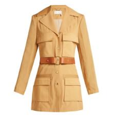 chloe patch pocket jacket