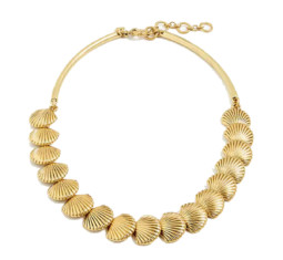 Seashell Collar Necklace by J. Crew
