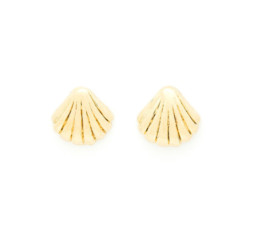 Ondine Shell Earrings by Louise Damas