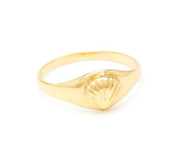 Ondine Signet Ring by Louise Damas