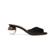 neous opus woven leather mules