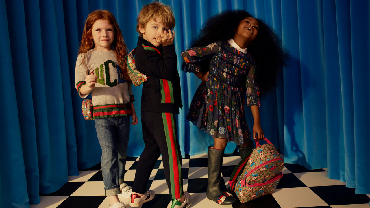 Children Are About to Be Dressed Better Than You, Thanks to Net-A-Porter's Gucci Kidswear Shop