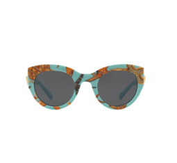Trésor De La Mer Tribute Shell Printed Sunglasses by Versace
