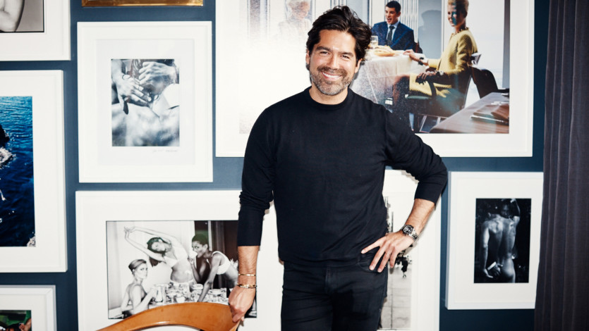 Brian Atwood on Learning from Gianni Versace, Shoes, and More