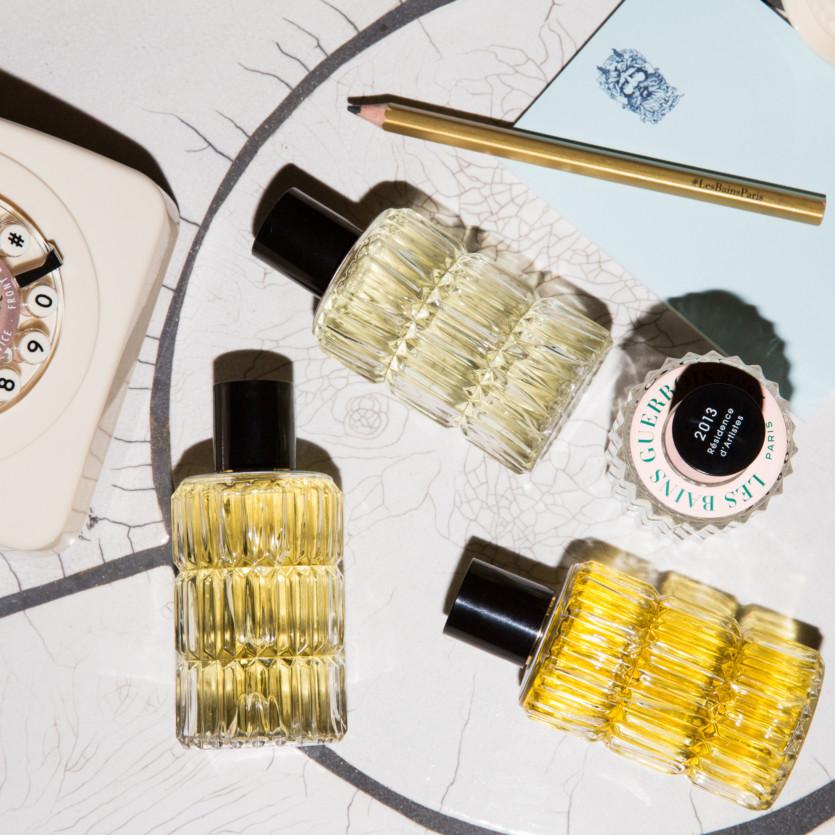 les bains hotel fragrance launch