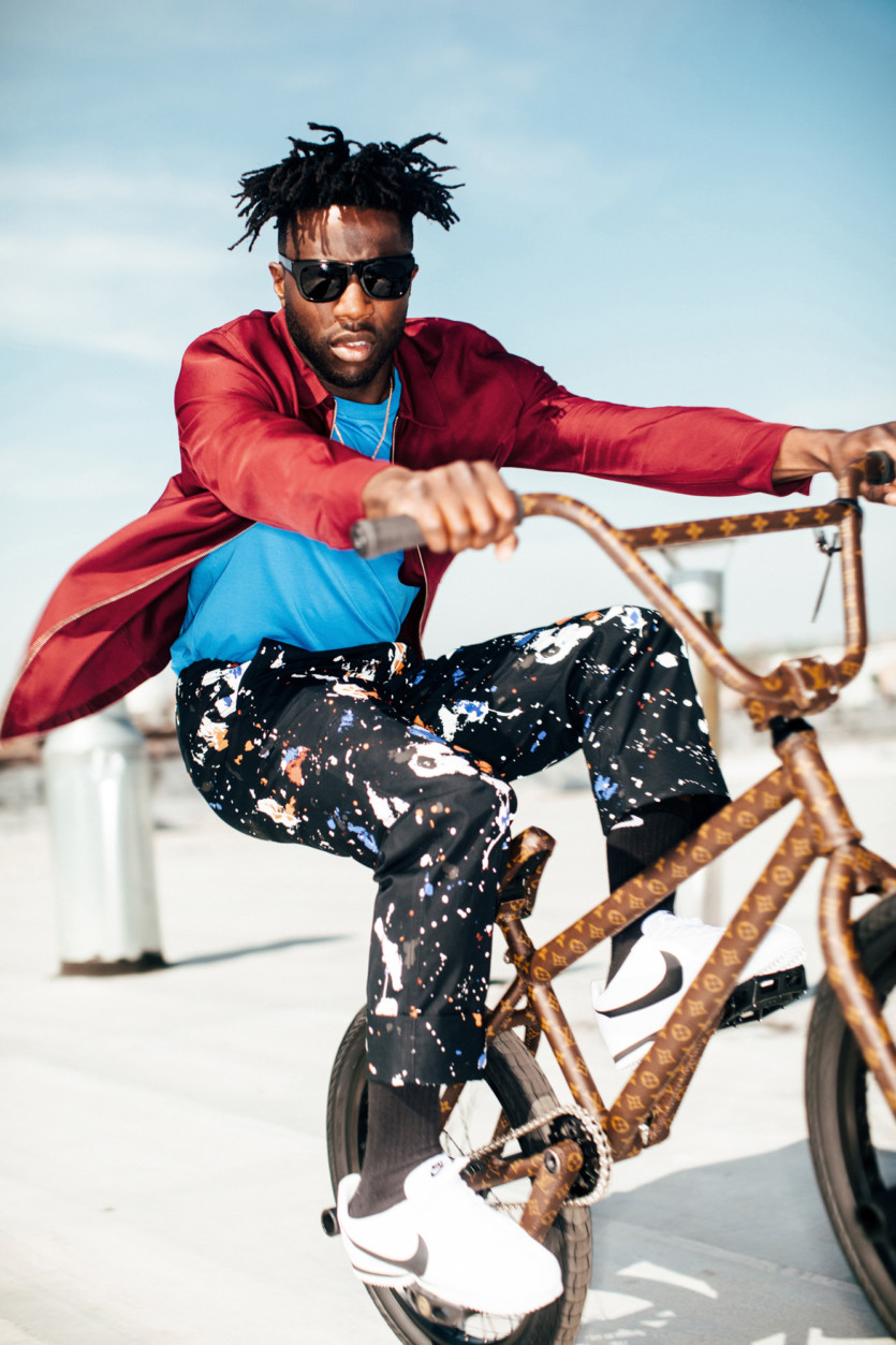e419f5ba7298a3 How Nigel Sylvester Became a Professional BMX Rider and Style Star ...