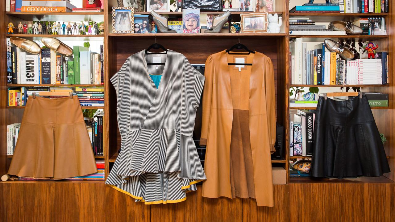 Mexico City-Based Designer Sandra Weil's Closet Will Make You Rethink How to Mix Vintage & Contemporary