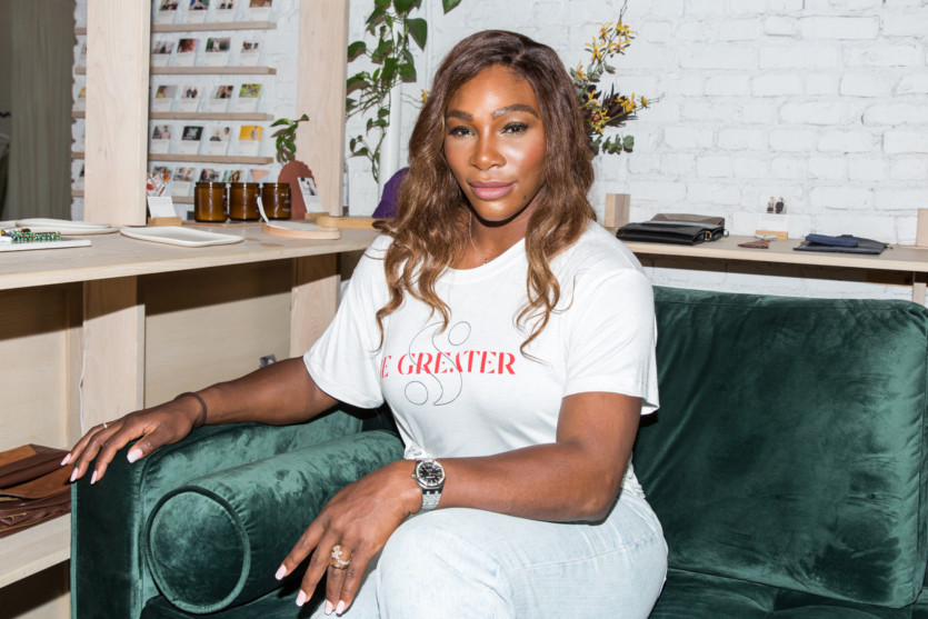 serena williams new denim collection