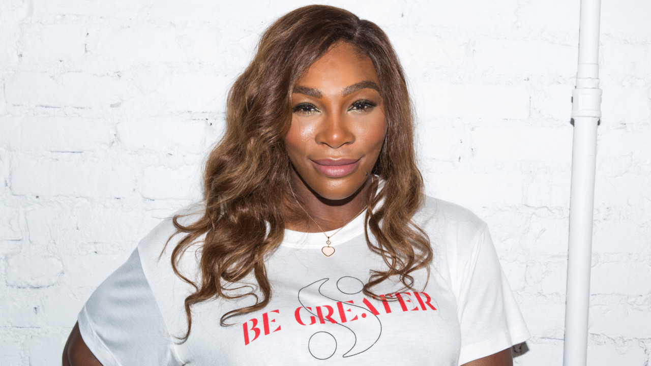 Talking Fashion with Serena Williams