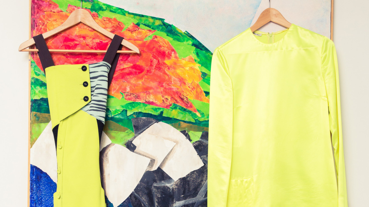 Slime Green Has Taken Over the Fashion World