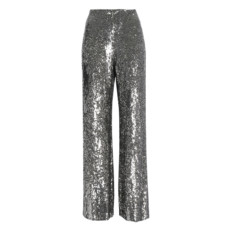 alexis sequined silk wide leg pants