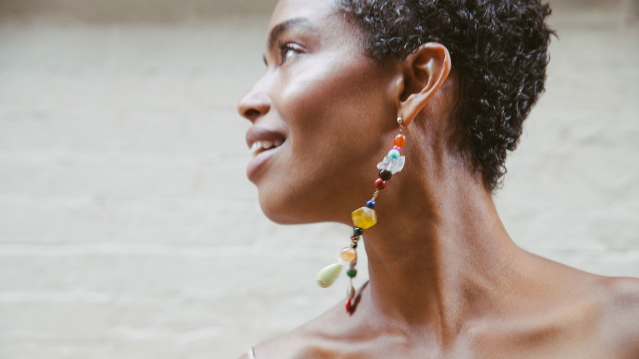 The Story Behind the Colorful Upcycled Earrings All Over Instagram