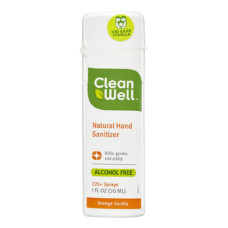 clean well natural hand sanitizer