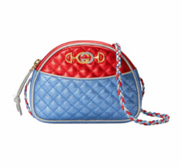 Laminated Leather Mini Bag by Gucci
