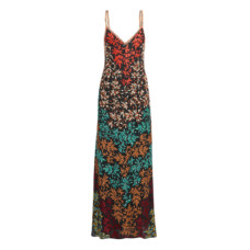 missoni embroidered crochet knit maxi dress
