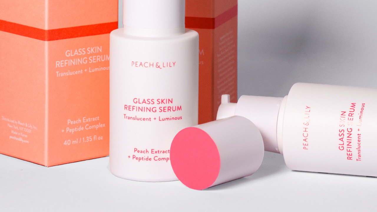 peach and lily glass skin review