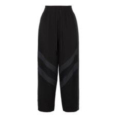 see by chloe striped crepe pants