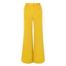 stine goya luca metallic woven wide leg pants