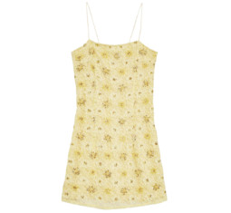 Bead and Lace Slip Dress by Topshop