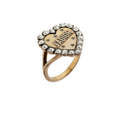 J'adior Heart Ring by Dior