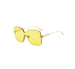 DiorColorQuake1 Sunglasses in Yellow by Dior