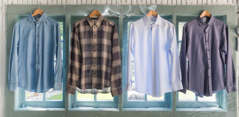 inside francesco clark closet