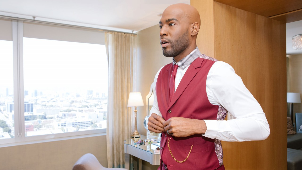 Inside Karamo Brown's Emmys Pre-Game and Red Carpet Makeup Routine