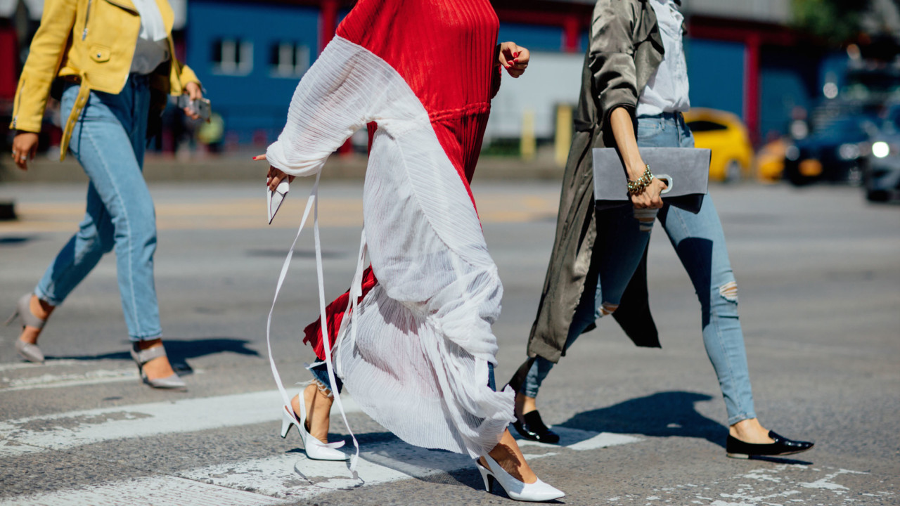 what editors are wearing to new york fashion week