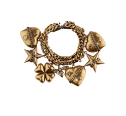 Gold Charm Bracelet by Dior