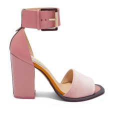 ted baker errita block heel sandals in dusky