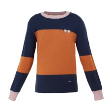 ted baker bryonny cashmere color block jumper