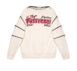 Oversize Sweatshirt With Movie Print by Gucci