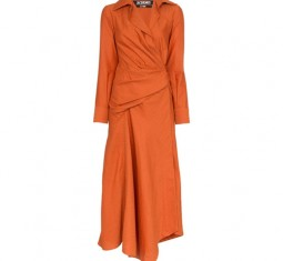 Wrap Shirt Dress by Jacquemus