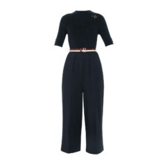 ted baker lesliee knit woven jumpsuit