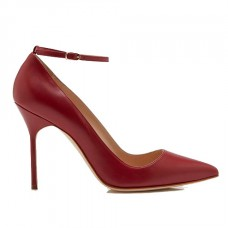 manolo blahnik bb strap pumps