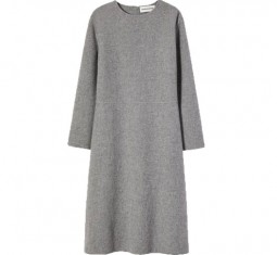 Cashmere Long Sleeve Dress by Mansur Gavriel