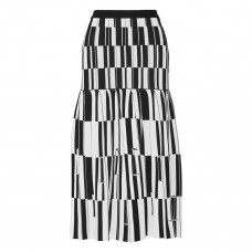 proenza schouler pleated jacquard knit skirt
